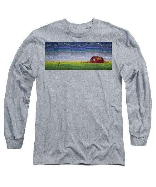 Early Morning Nine Patch Long Sleeve T-Shirt