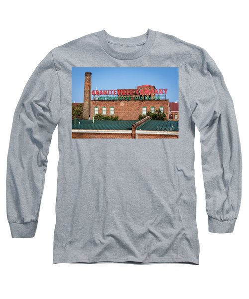 Enterprise Mill - Graniteville Company - Augusta Ga 2 Long Sleeve T-Shirt