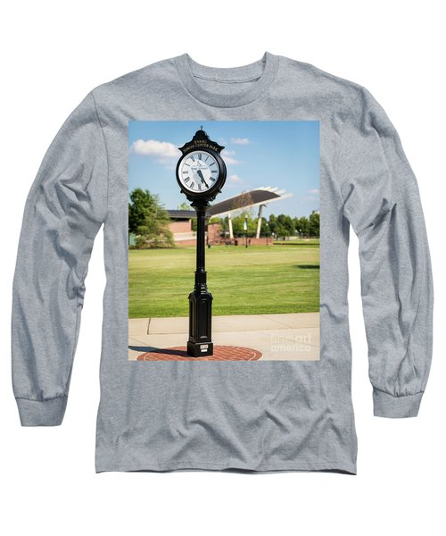 Evans Towne Center Park Clock - Columbia County Ga Long Sleeve T-Shirt