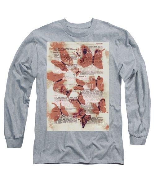 Exotic Scripts Long Sleeve T-Shirt