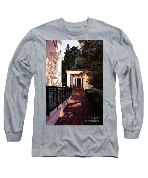 Exterior Amazing Getty Villa  Long Sleeve T-Shirt