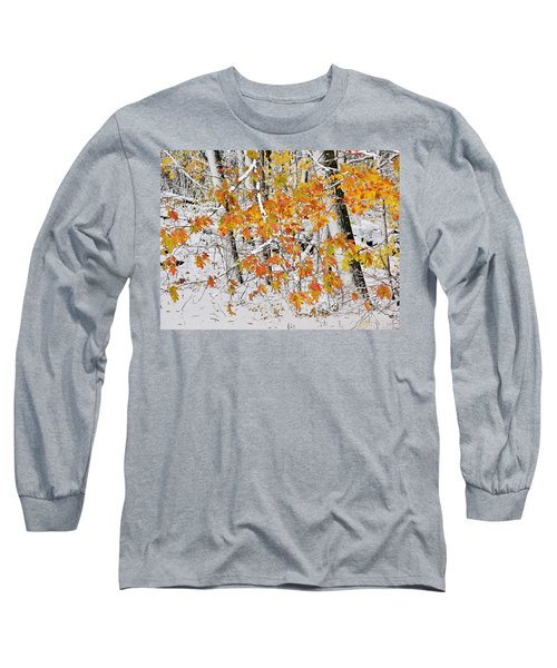 Fall And Snow Long Sleeve T-Shirt