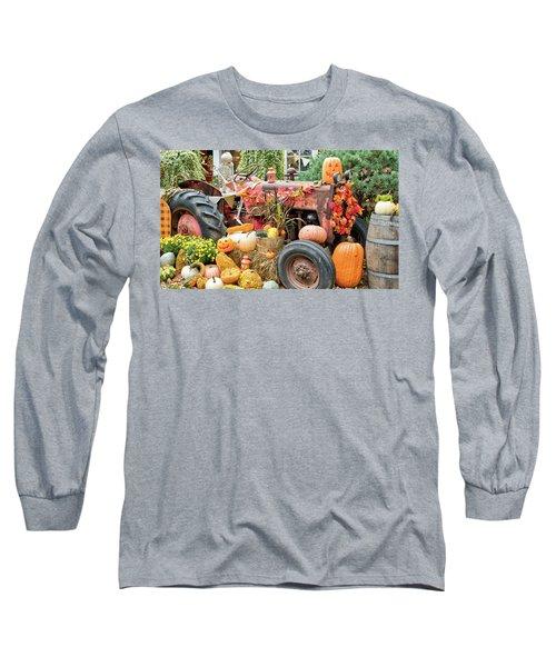Fall Decor Long Sleeve T-Shirt