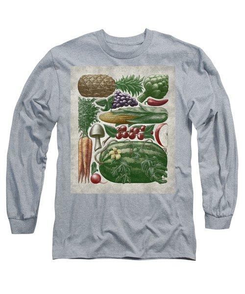 Farmer's Market - Color Long Sleeve T-Shirt