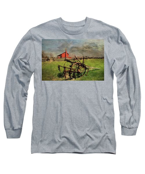 Farming In The 1880s Long Sleeve T-Shirt