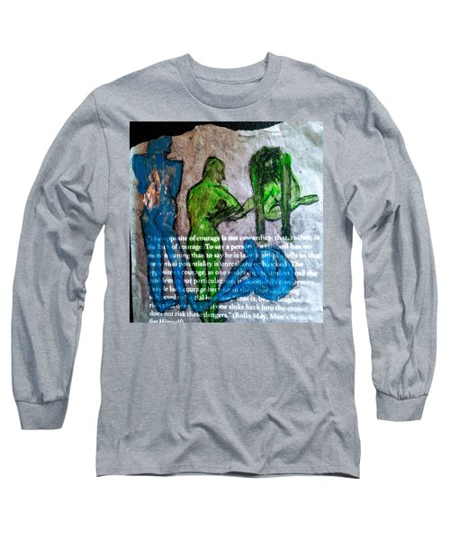 Fear Of The Inexplicable Long Sleeve T-Shirt