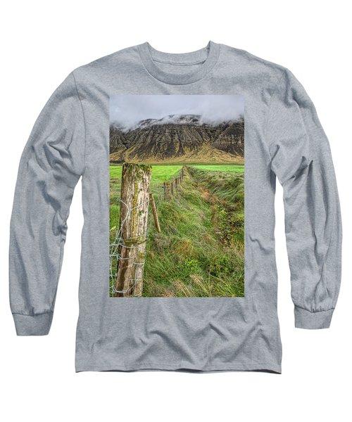 Fence Of Iceland Long Sleeve T-Shirt