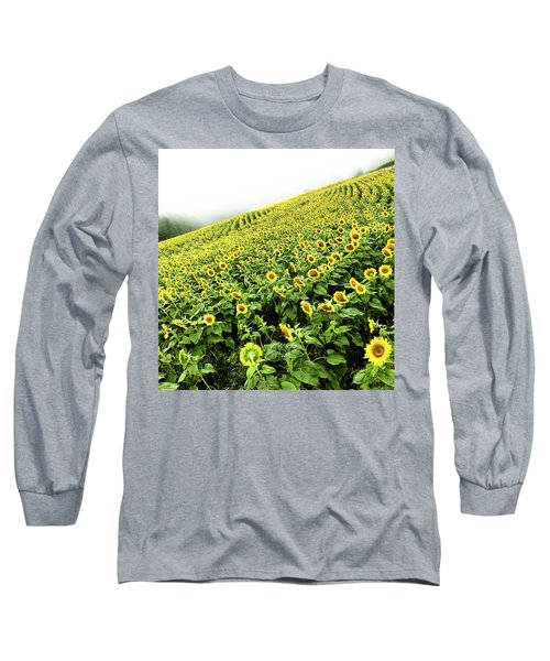 Fields Of Yellow Long Sleeve T-Shirt