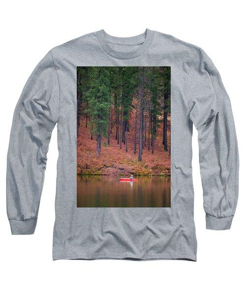 Fishing Fenton Lake Long Sleeve T-Shirt