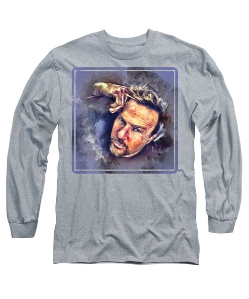 Flanery Watercolor Long Sleeve T-Shirt