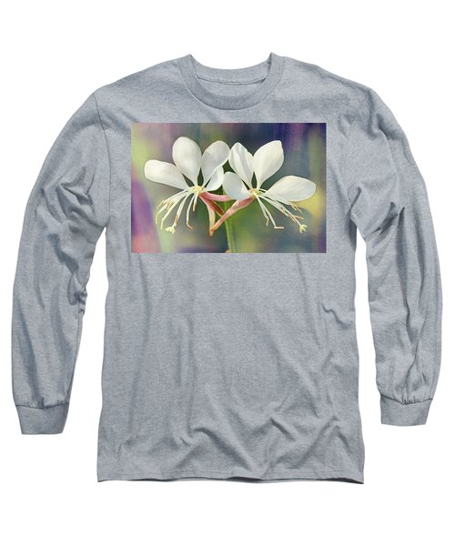 Long Sleeve T-Shirt featuring the photograph Floral Palette I by Leda Robertson