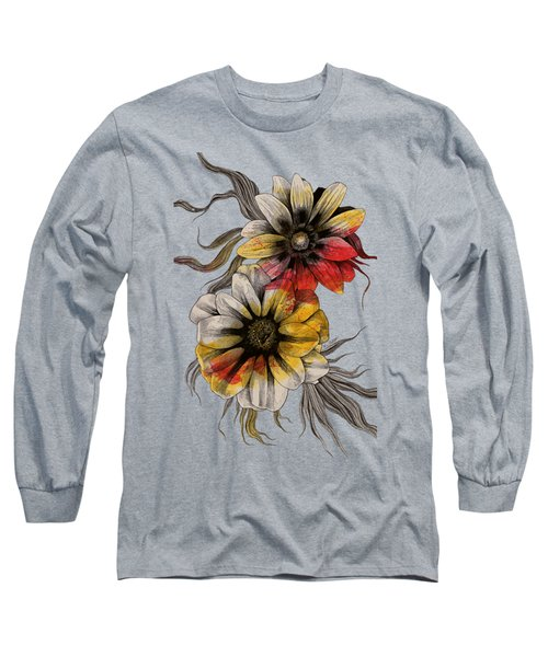 Floral Series - Gazania Rigens Long Sleeve T-Shirt