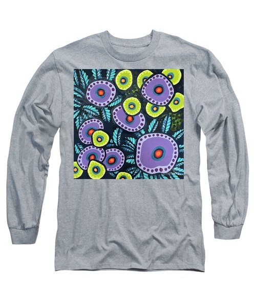 Floral Whimsy 12 Long Sleeve T-Shirt