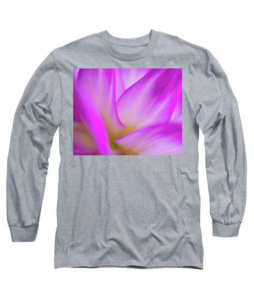 Flower Close Up Long Sleeve T-Shirt