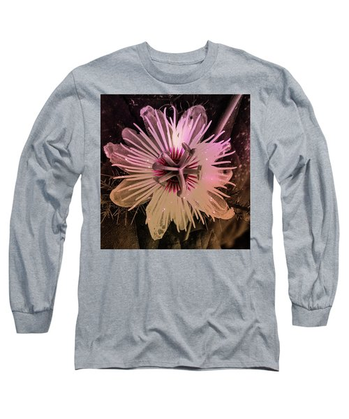 Flower With Tentacles Long Sleeve T-Shirt