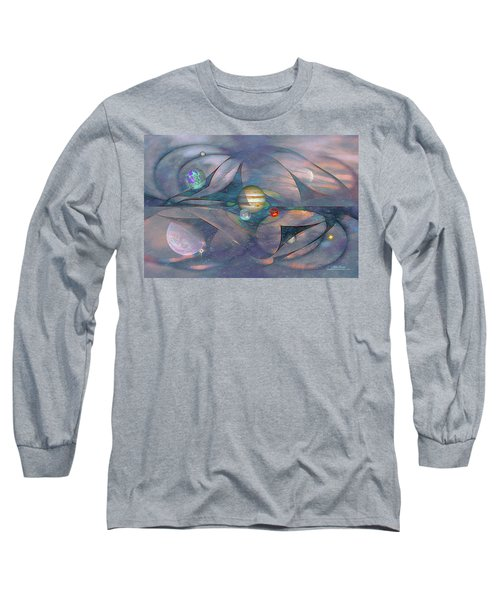 Folding Space Long Sleeve T-Shirt