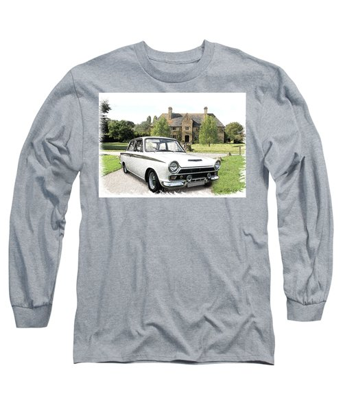 Ford 'lotus' Cortina Long Sleeve T-Shirt