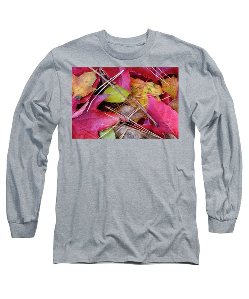 Long Sleeve T-Shirt featuring the photograph Forest Floor 1 by Michael Hubley