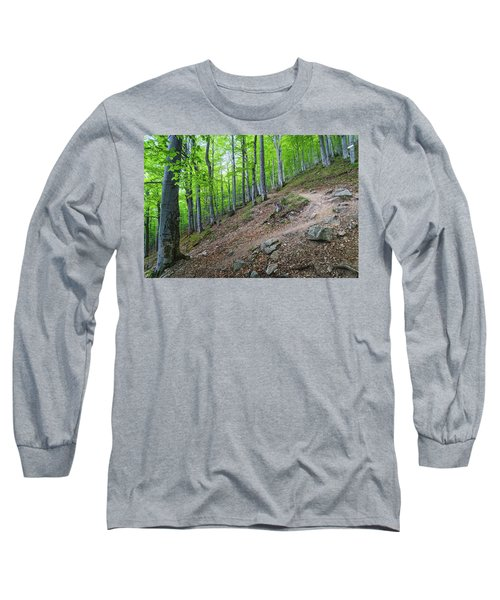 Forest On Balkan Mountain, Bulgaria Long Sleeve T-Shirt