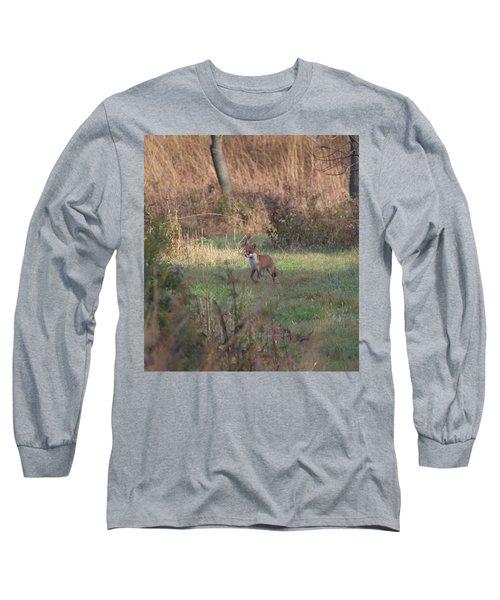 Fox On Prowl Long Sleeve T-Shirt