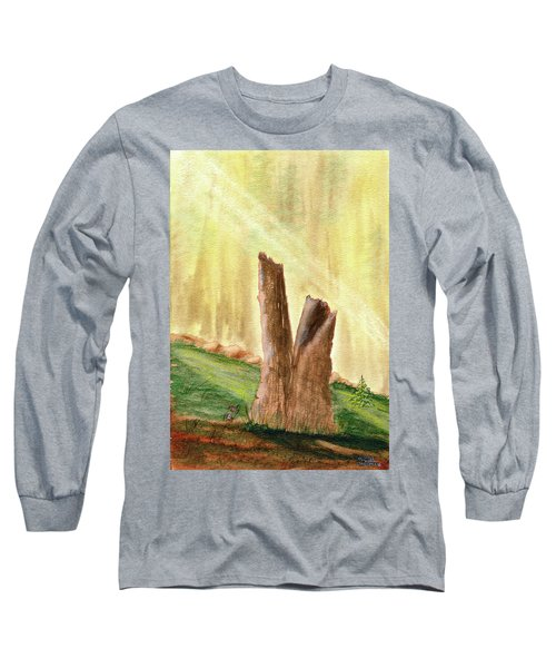 From Ruins Comes New Life Long Sleeve T-Shirt