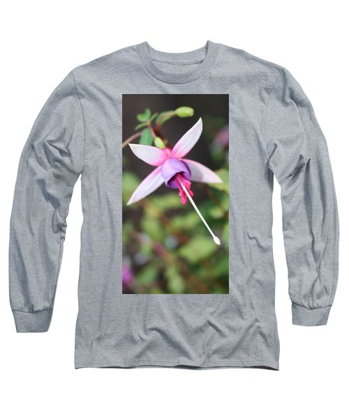 Fuchsia Showing Off In All Its Glory Long Sleeve T-Shirt