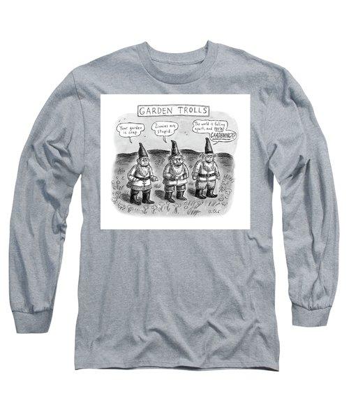 Garden Trolls Long Sleeve T-Shirt