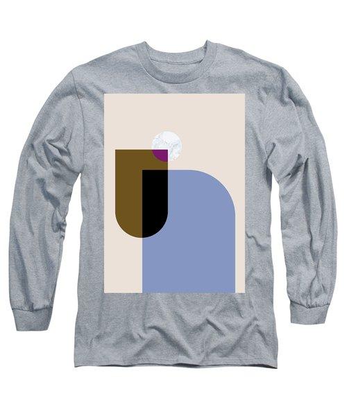 Geometric Painting 4 Long Sleeve T-Shirt