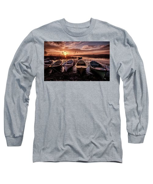 Get In Line Long Sleeve T-Shirt