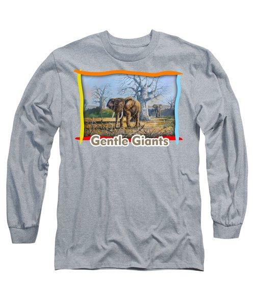 Giants Of Africa Long Sleeve T-Shirt