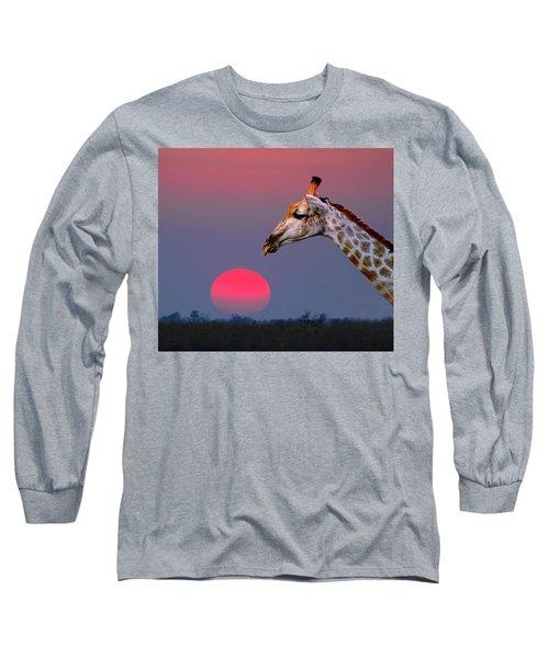 Giraffe Composite Long Sleeve T-Shirt