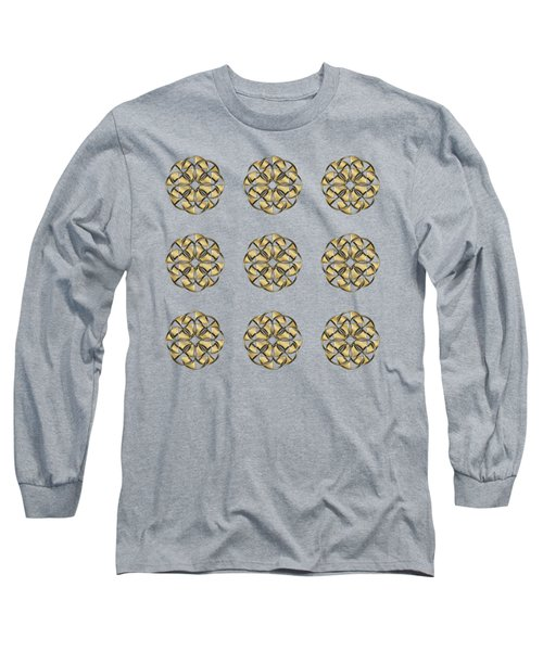 Gold Circles 1 Long Sleeve T-Shirt