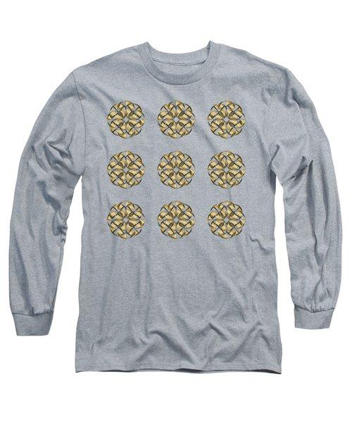 Gold Circles 1 Long Sleeve T-Shirt