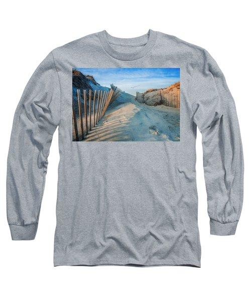 Golden Glow Dunes Long Sleeve T-Shirt
