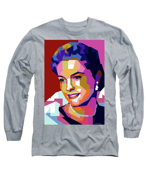 Grace Kelly Long Sleeve T-Shirt
