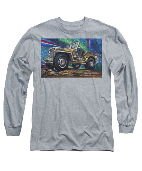 Grandpa Willie's Willys Jeep Long Sleeve T-Shirt