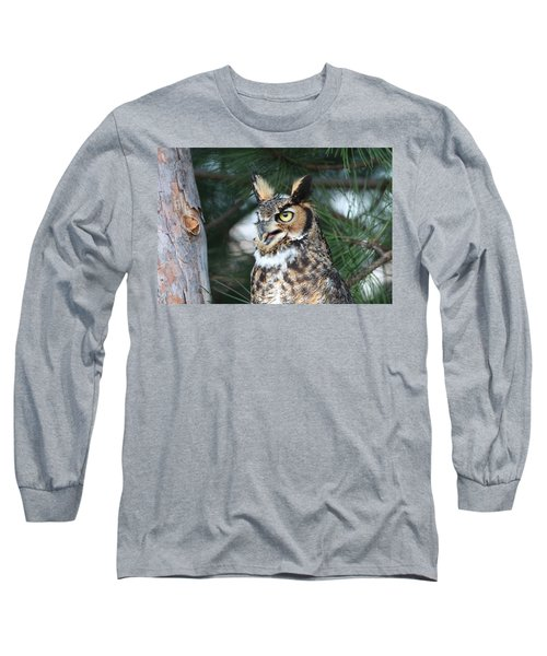 Great Horned Owl 5151801 Long Sleeve T-Shirt