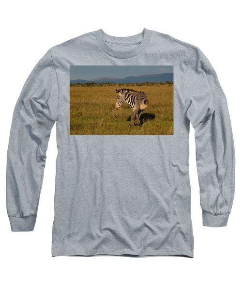 Grevy's Zebra Long Sleeve T-Shirt