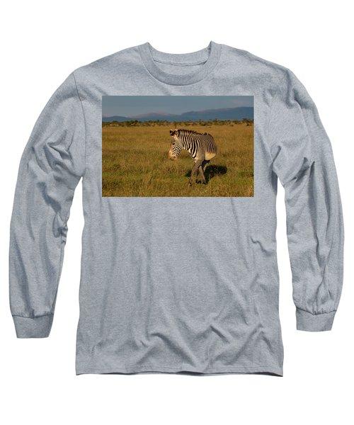 Grevy's Zebra Long Sleeve T-Shirt