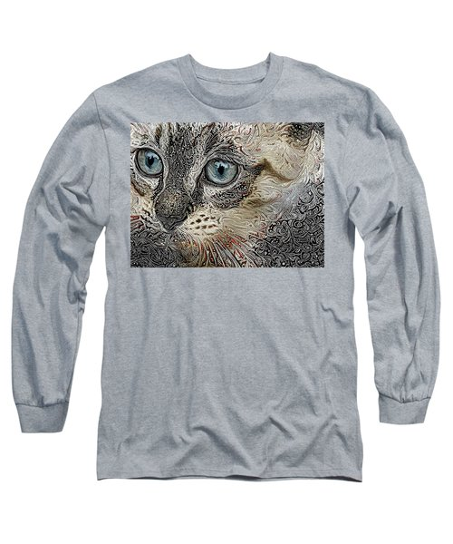 Gypsy The Siamese Kitten Long Sleeve T-Shirt