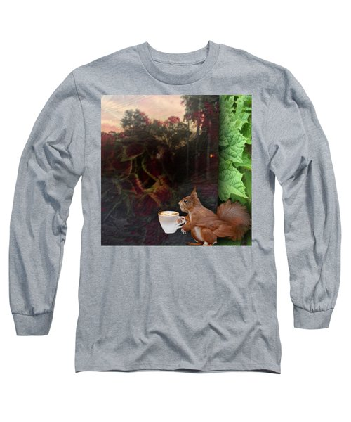 Habiscuis Coffee Sky Long Sleeve T-Shirt