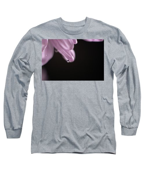 Hanging Water Droplet Long Sleeve T-Shirt