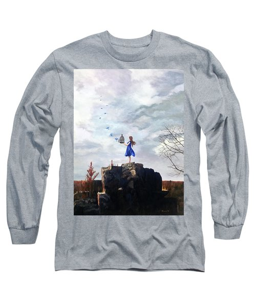 Happiness Released Long Sleeve T-Shirt