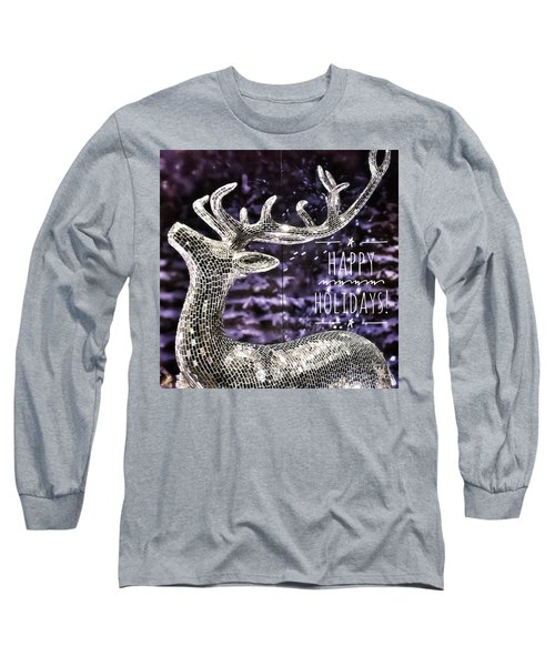 Happy Holiday Sparkle Long Sleeve T-Shirt