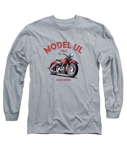Harley-davidson Ul 1941 Long Sleeve T-Shirt