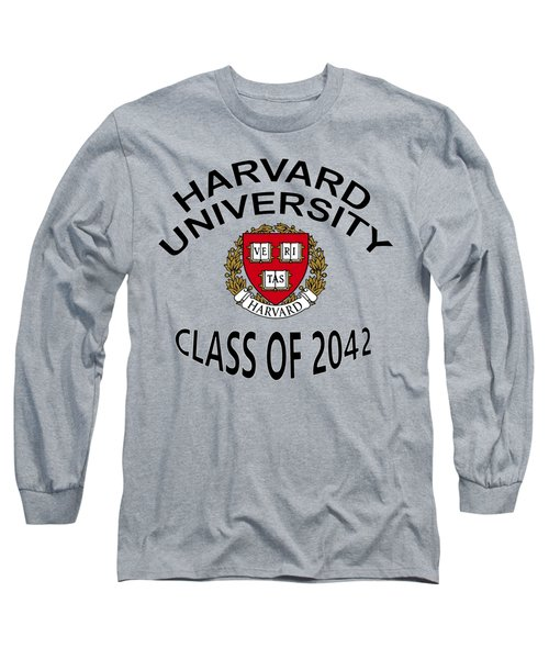 Harvard University Class Of 2042 Long Sleeve T-Shirt