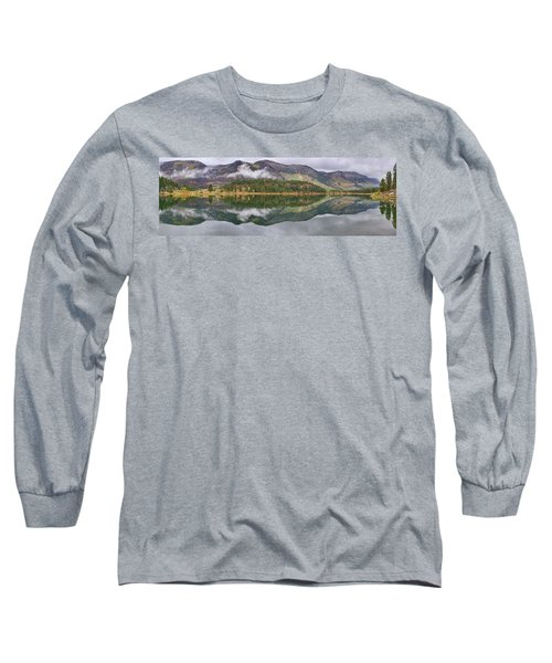 Long Sleeve T-Shirt featuring the photograph Haviland Lake Pano by Theo O'Connor