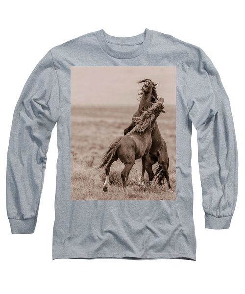 He Means It Long Sleeve T-Shirt