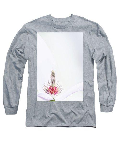 The Heart Of A Magnolia Long Sleeve T-Shirt