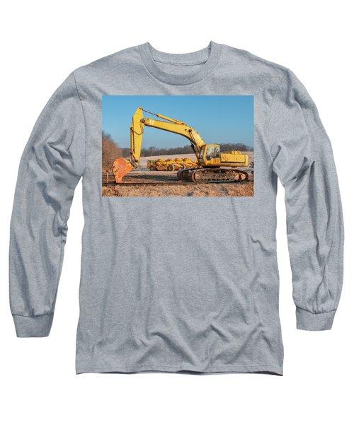 Heavy Equipment Long Sleeve T-Shirt
